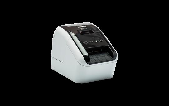 QL-800 Imprimante de bureau pour étiquettes professionnelles en noir et rouge 3
