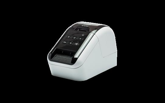 QL-810W Wifi printer voor professionele labels in zwart en rood 2