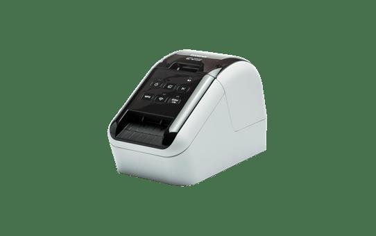 QL-810W Imprimante Wifi pour étiquettes professionnelles en noir et rouge 2