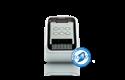 QL-810W Imprimante Wifi pour étiquettes professionnelles en noir et rouge