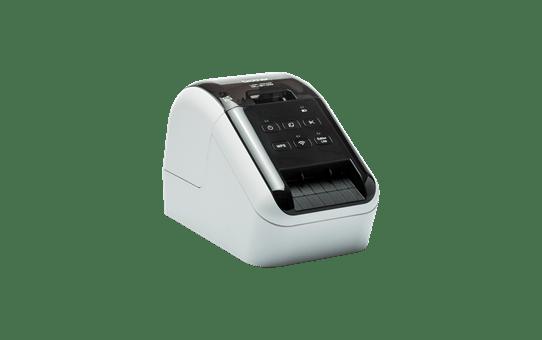 QL-810W Imprimante Wifi pour étiquettes professionnelles en noir et rouge 3