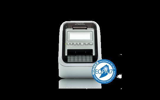 QL-820NWB imprimante d'étiquettes de bureau 62mm pour étiquettes professionnelles en noir et en rouge 2