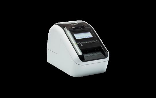 QL-820NWB Imprimante autonome pour étiquettes professionnelles en noir et rouge 3