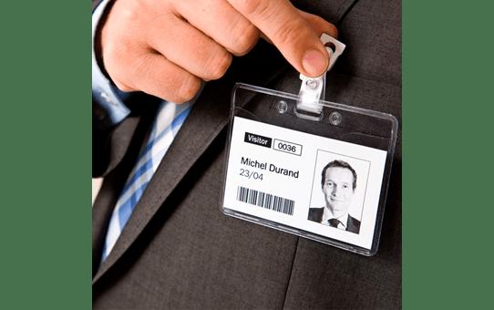 Brother QL820NWBVM etikettskriver - kit for besøksmerking 5