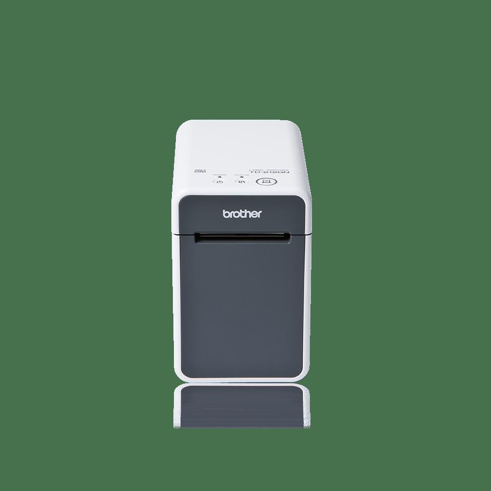 Přední pohled na tiskárnu štítků TD-2120N