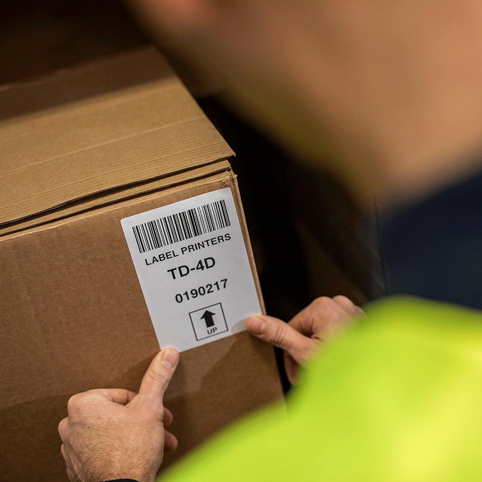 TD-4410D Imprimante d'étiquettes de bureau professionnelle 5