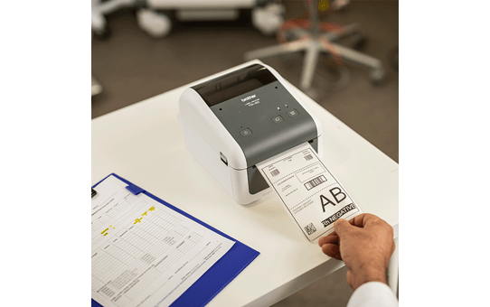 TD-4410D wysokiej jakości nabiurkowa drukarka etykiet 6