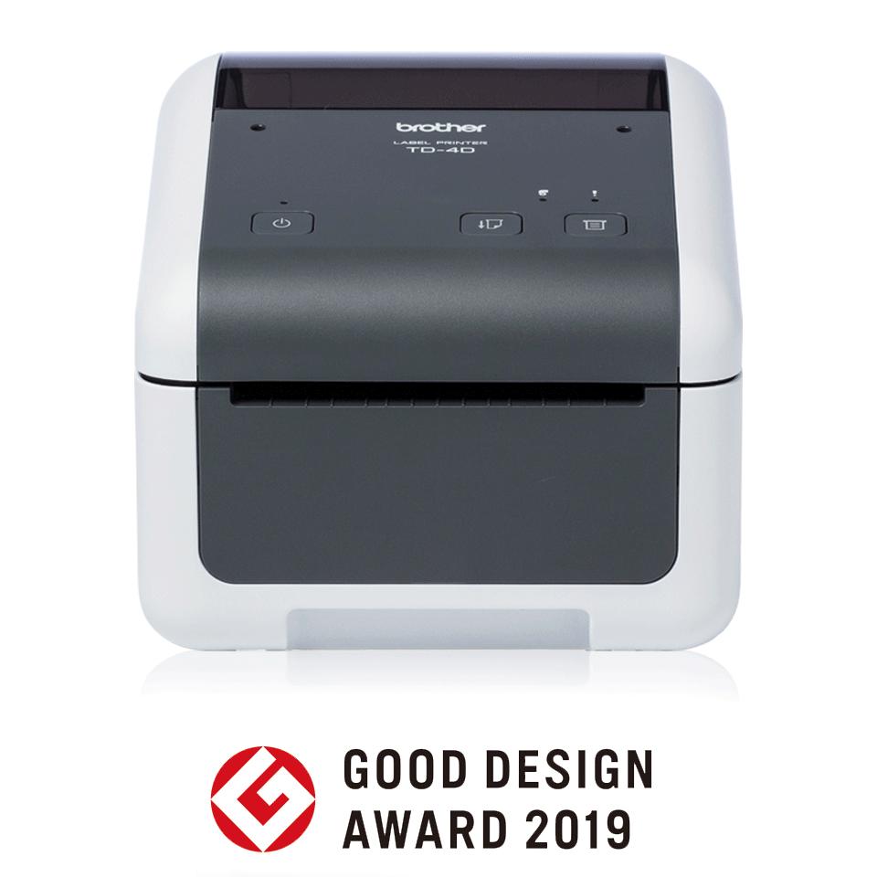TD-4410D Imprimante d'étiquettes de bureau professionnelle