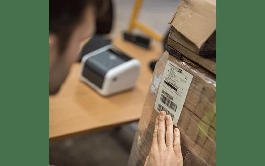TD-4420DN imprimante d'étiquettes professionnelle 4 pouces - thermique directe + LAN 5