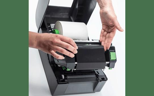 Brother TD-4420TN terminio perdavimo stalinis etikečių spausdintuvas 5