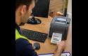 TD-4420TN 4 inch professionele labelprinter - thermische overdracht + LAN 6