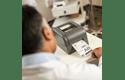 TD-4420TN 4 inch professionele labelprinter - thermische overdracht + LAN 7