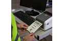 Brother TD-4520DN Professional Network Desktop Label Printer 5
