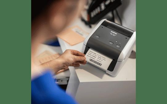 TD-4520DN direct thermische labelprinter 4 inch 6