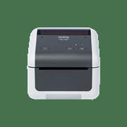 Przód nabiurkowej drukarki etykiet Brother TD-4520DN
