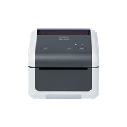 Brother TD-4520DN desktop label printer front shot