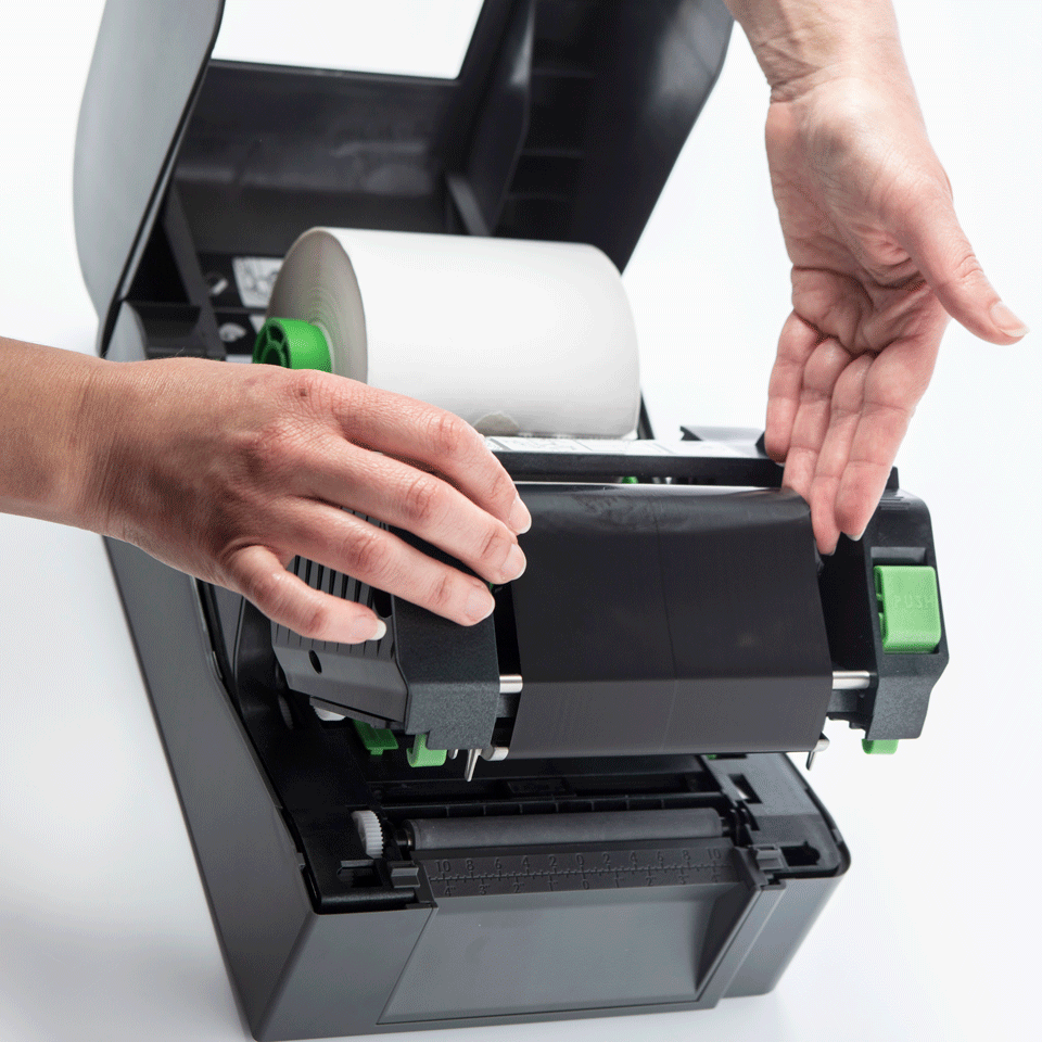 Brother TD-4520TN Desktopdrucker für Thermotransferetiketten 5