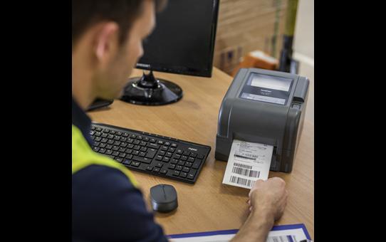 TD-4520TN 4 inch professionele labelprinter - thermische overdracht + LAN 6