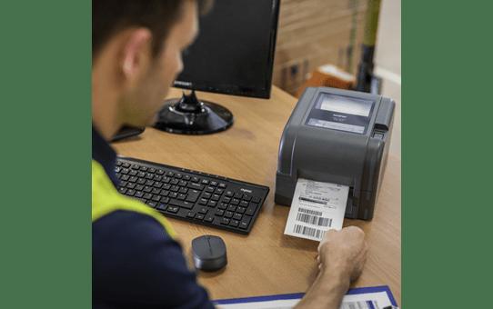Brother TD-4520TN terminio perdavimo stalinis etikečių spausdintuvas 6