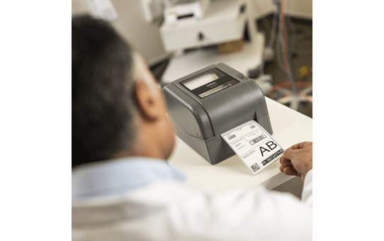 TD-4520TN 4 inch professionele labelprinter - thermische overdracht + LAN 7