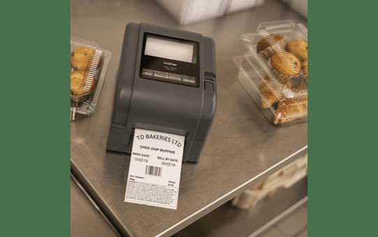 TD-4520TN imprimante d'étiquettes professionnelle 4 pouces - transfert thermique + LAN 8