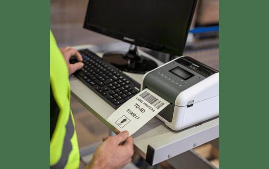 TD-4550DNWB imprimante d'étiquettes professionnelle 4 pouces - thermique directe + WiFi + LAN + Bluetooth 7