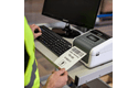 TD-4550DNWB Professional Bluetooth, Wireless Desktop Label Printer 7