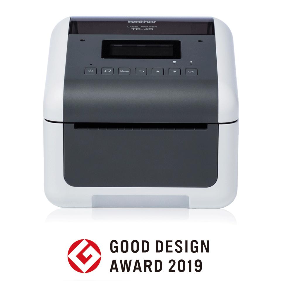 TD-4550DNWB Imprimante d'étiquettes de bureau professionnelle