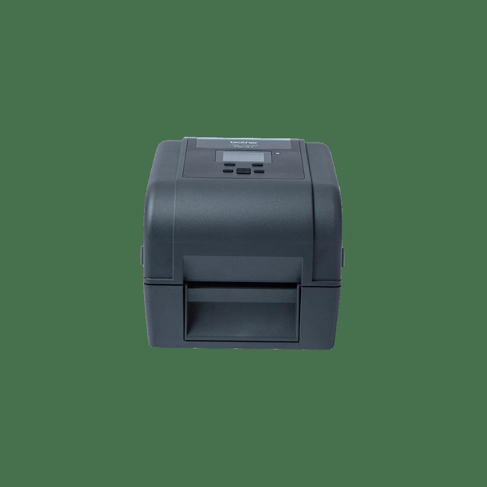 Brother TD4650TNWBR etikettskriver med hvit bakgrunn front