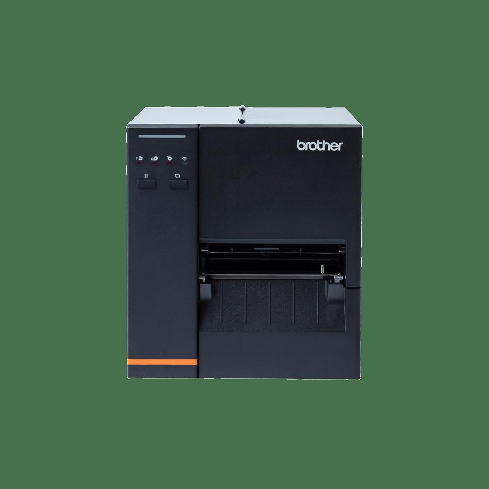 Przemysłowa drukarka etykiet Brother TJ4020TN na przezroczystym tłe - front