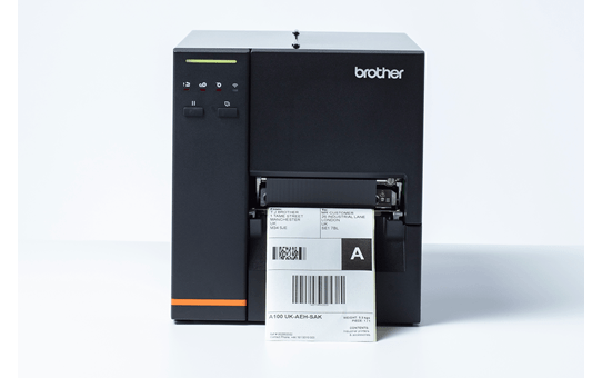 TJ-4020TN Imprimante industrielle d'étiquettes à transfert thermique 4