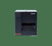 Brother TJ4120TN industrial label printer transparent background - front
