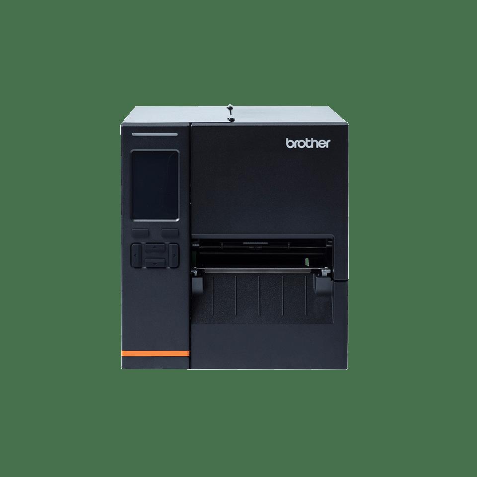Przemysłowa drukarka etykiet Brother TJ4121TN na przezroczystym tłe - front