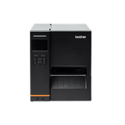 Brother TJ-4420TN индустриален етикетен принтер, прозрачен фон, кадър отпред