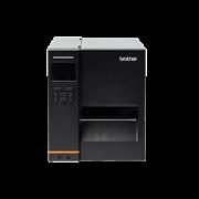 Brother TJ-4520TN индустриален етикетен принтер, прозрачен фон, кадър отпред