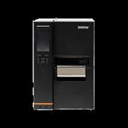 Brother TJ-4522TN industrial label printer transparent background - front