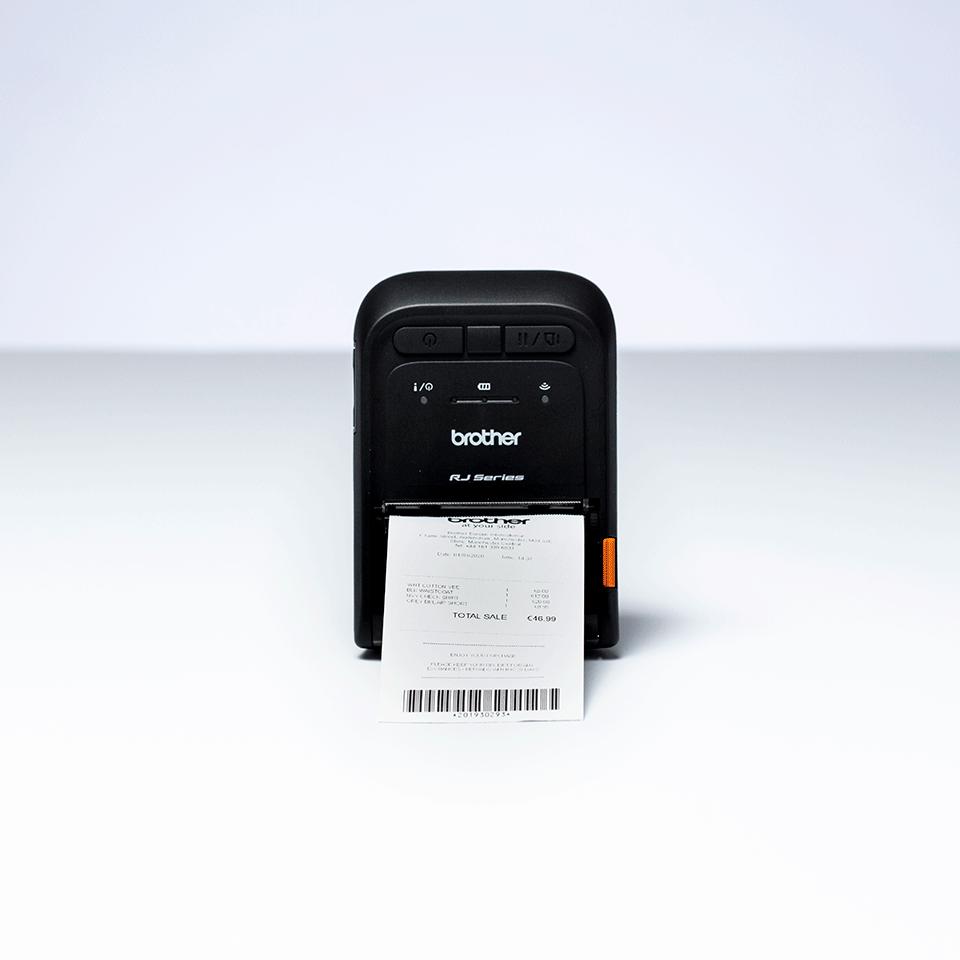 Brother RJ-2055WB mobilus čekių spausdintuvas 5