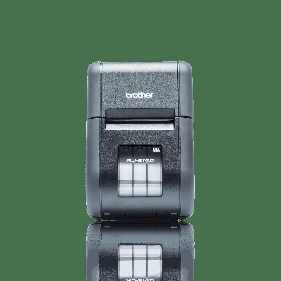 Brother RJ2140 mobil kvitteringsskriver og etikettskriver front