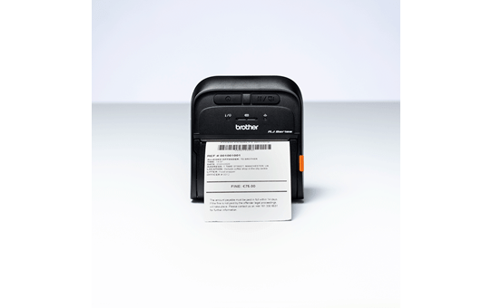RJ-3035B petite imprimante portable thermique 3 pouces + Bluetooth + NFC + compatibilité iOS 5