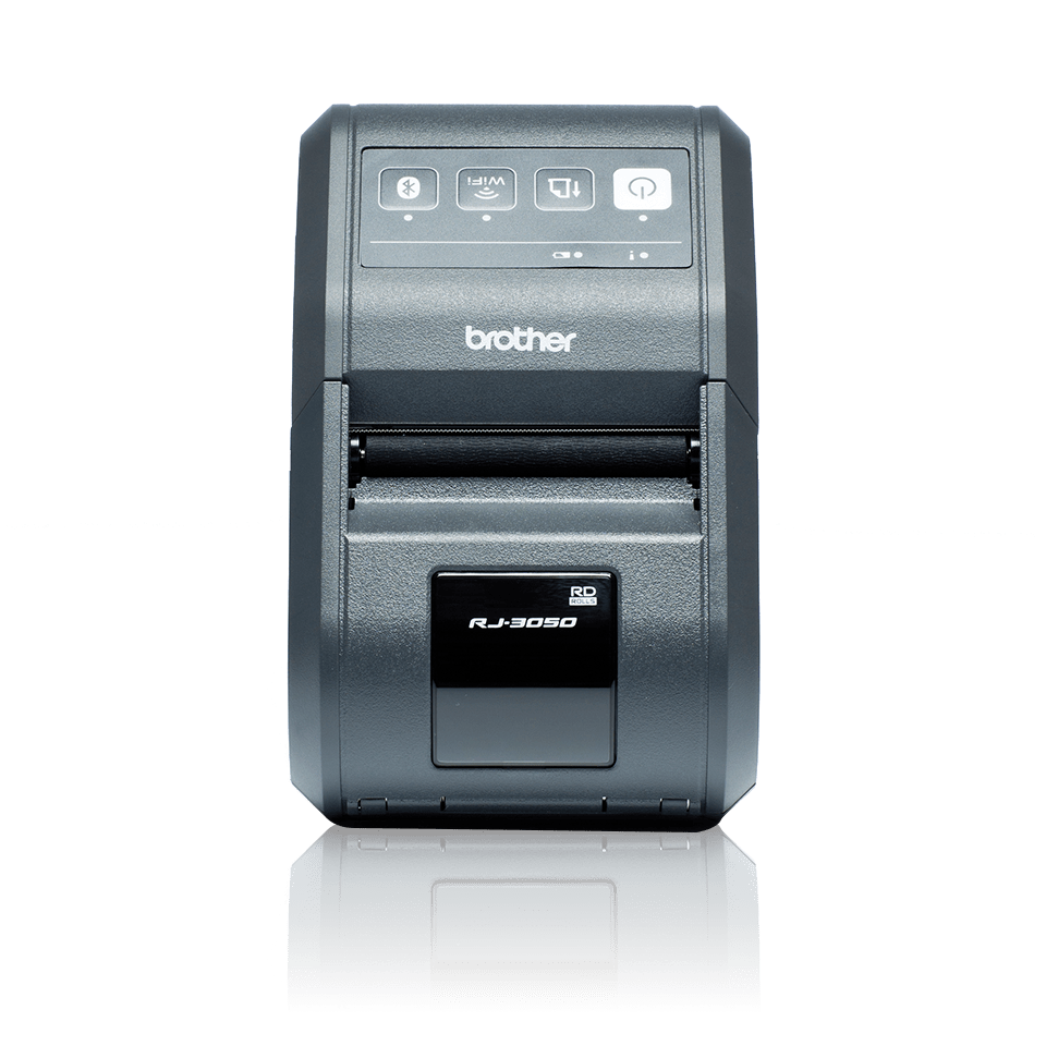 Brother RJ3050 mobil kvitteringsskriver og etikettskriver front