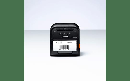 Brother RJ3055WB mobil etikettskriver og kvitteringsskriver med trådløs og Bluetooth tilkobling 5