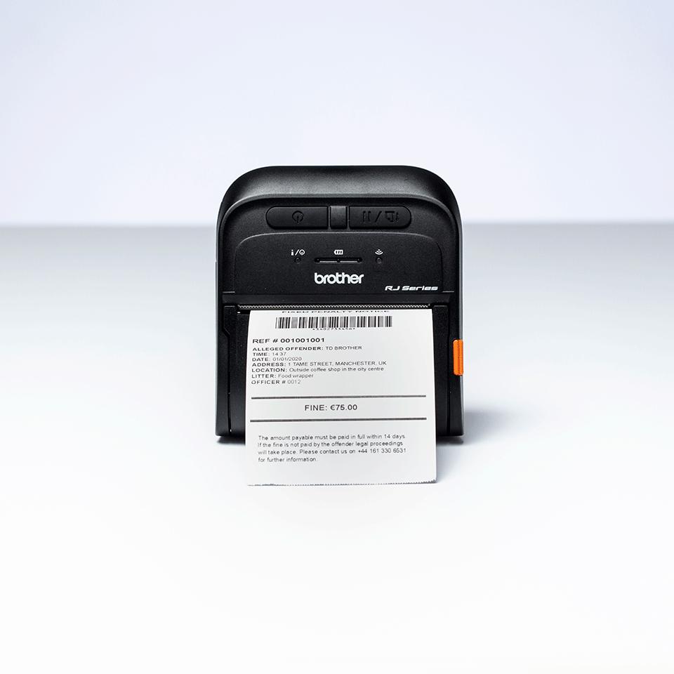mobilná tlačiareň štítkov a bločkov Brother RJ-3055WB 6