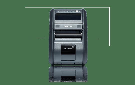 Brother RJ3150-mobiilitulostin kuitti- ja tarratulostukseen 2