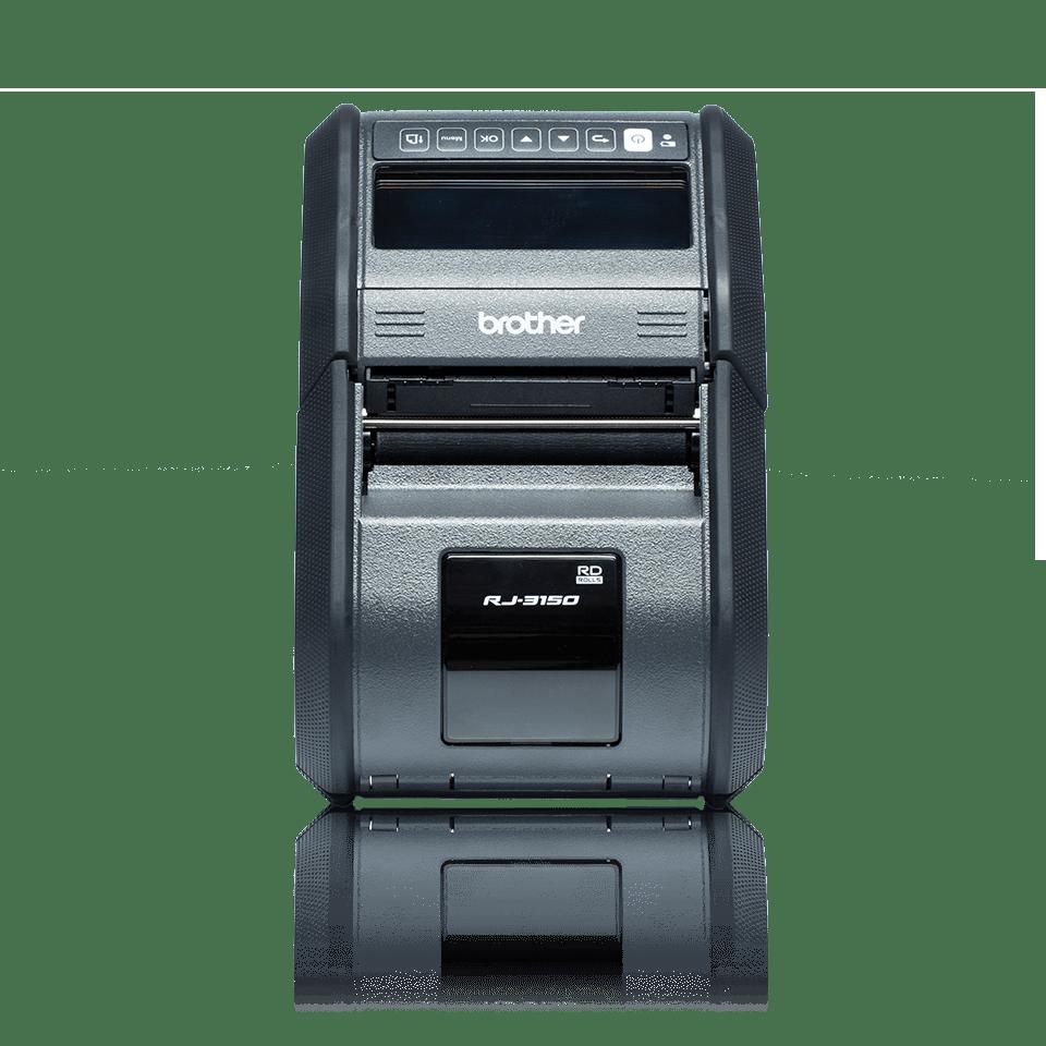 Brother RJ3150 mobil kvittoskrivare och etikettskrivare front