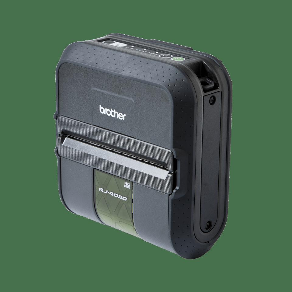 RJ-4030 Imprimante mobile 4 pouces pour étiquettes et tickets + USB + RS232C