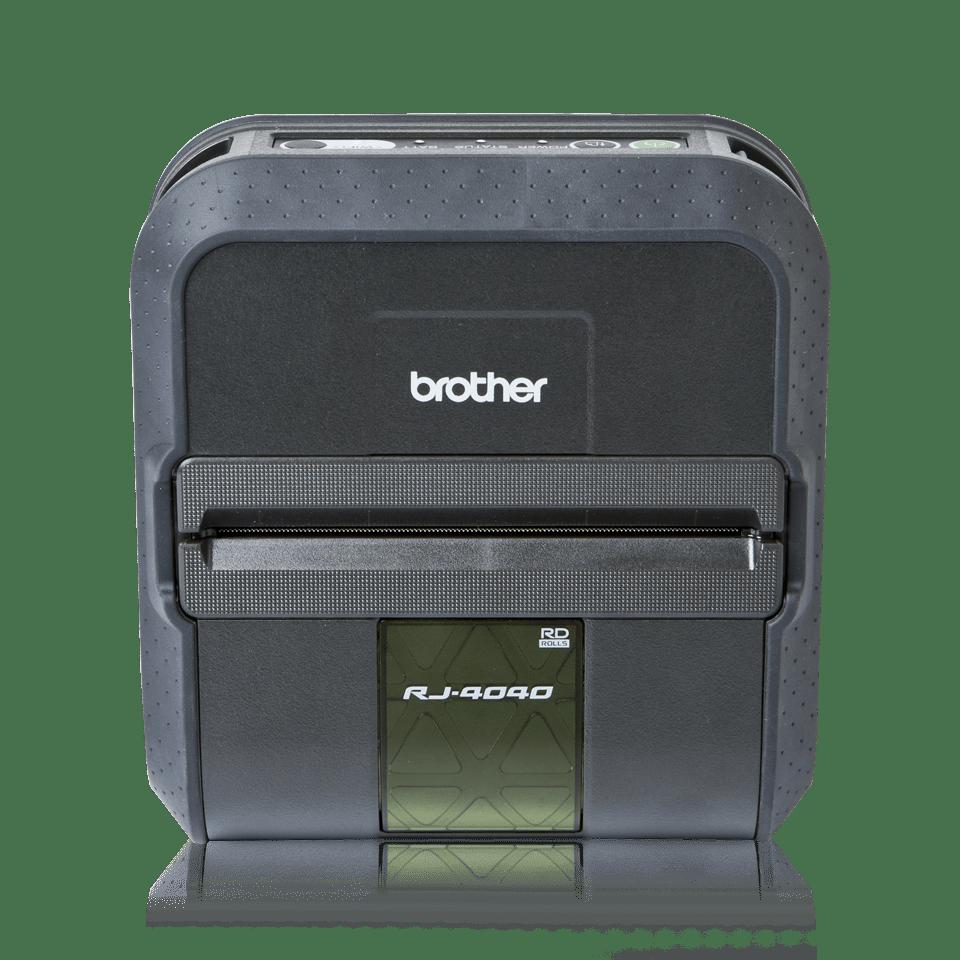 Brother RJ4040 mobil kvitteringsskriver og etikettskriver front