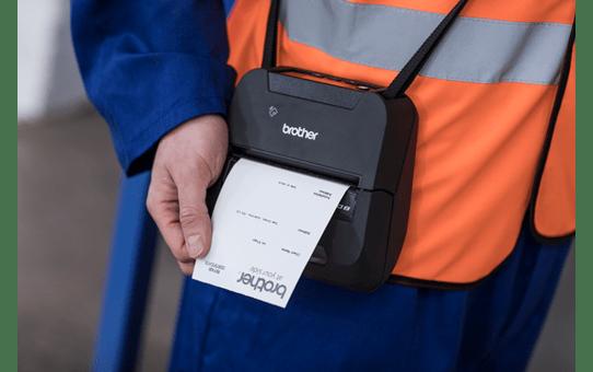 RJ4230Bmobil kvitteringsskriver og etikettskriver med Bluetooth 4