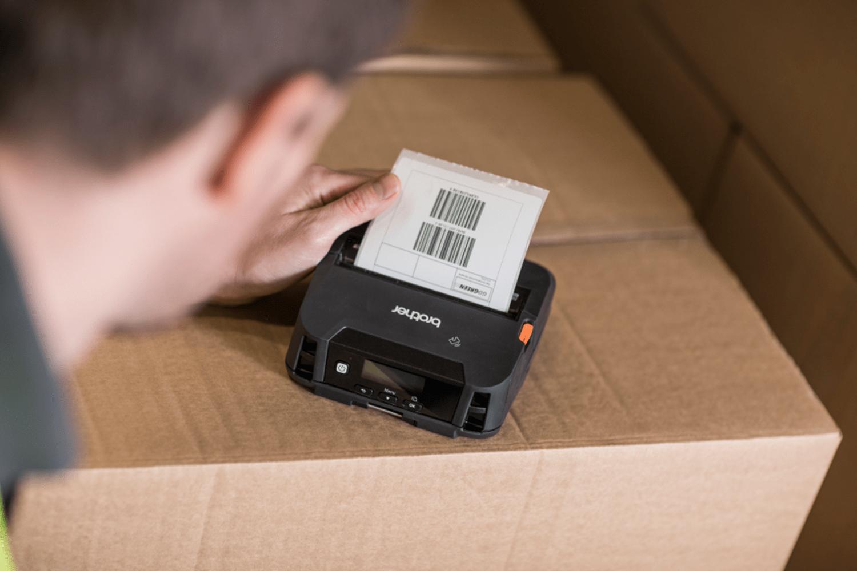 RJ4230Bmobil kvitteringsskriver og etikettskriver med Bluetooth 5