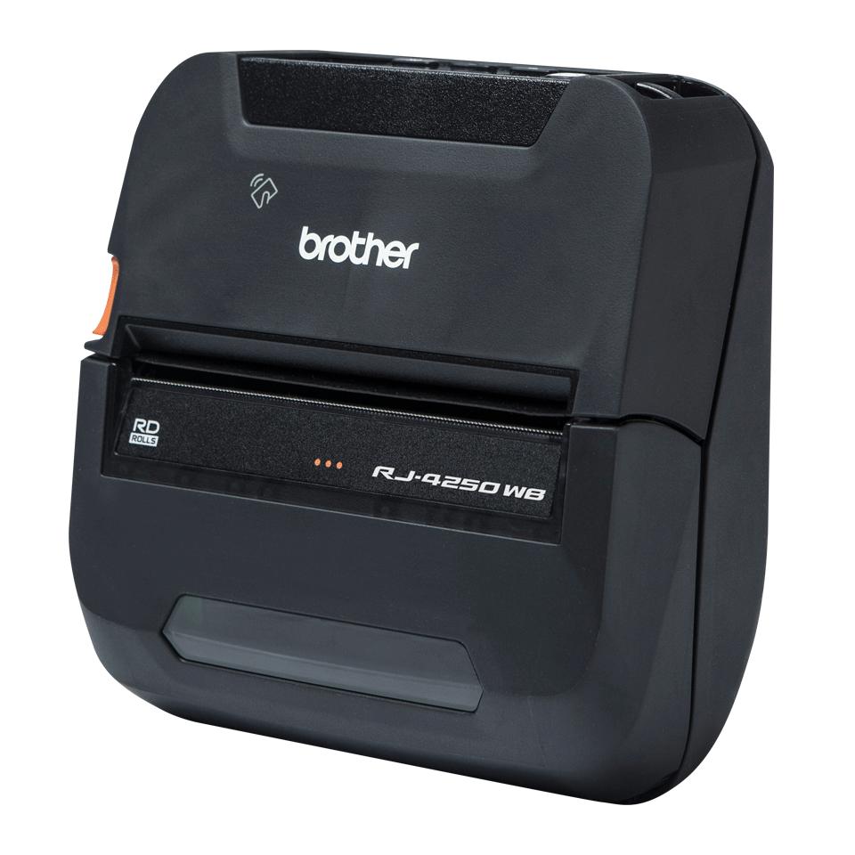 Brother RJ4250WB mobil kvitteringsskriver og etikettskriver med Wi-Fi og Bluetooth 2