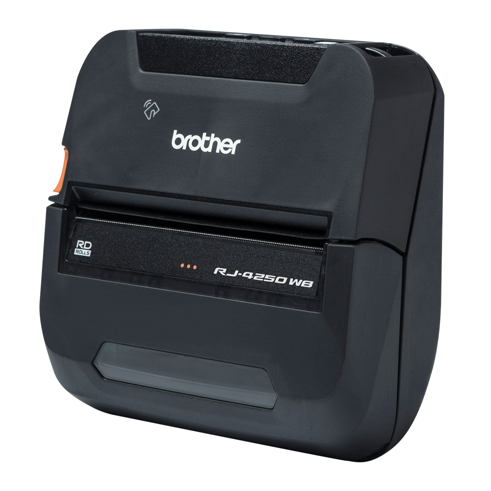 RJ-4250WB draagbare thermische 4 inch printer + WiFi + Bluetooth + NFC + iOS compatibel 2